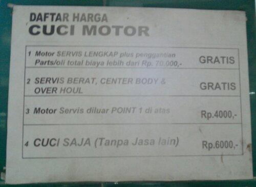 Service Di Ahass Apa Saja Yg Harusnya Di Cek Masshar2000