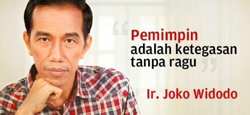 Jokowi: Percuma Jadi Presiden Kalau tidak Tegas