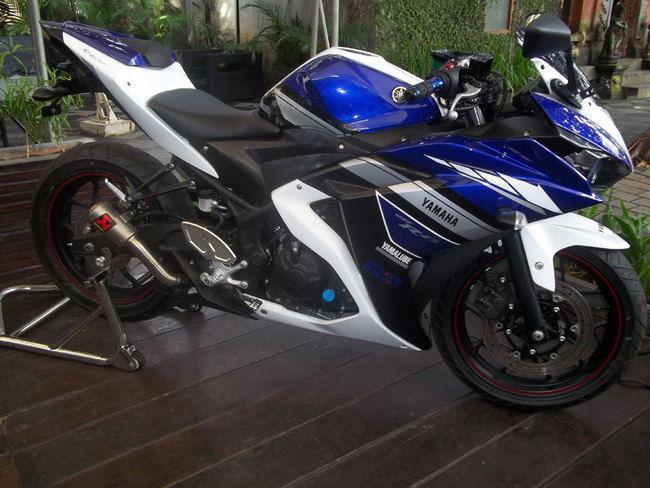 Yamaha R25 Modifikasi Balap terkeren