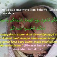 NAMA BAYI LAKI-LAKI  YANG BAIK DALAM ISLAM