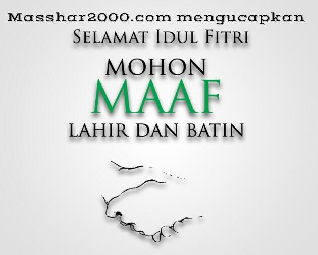 Rangkaian Kata Mutiara Ucapan Selamat Idul Fitri 1437 H