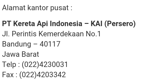 Lowongan Kerja Pt Kai Daop 2 Bandung Masshar2000