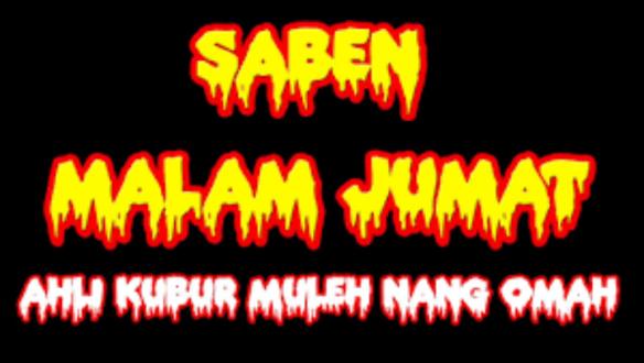 """Lirik Lagu dan Terjemahan """" SABEN MALAM JUM'AT """" plus Video"""