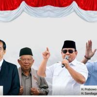 Debat Capres Pertama , Jokowi Kuasai Podium , Sandi Paling Rilex...80-60 Untuk Jokowi-Maaruf