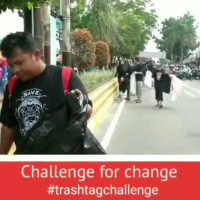 Chalenge For Change - Tantangan Baru Buat Kamu Yang Suka Eksis di Sosmed #TrashTag